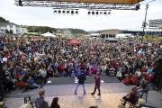 Il y avait foule pour le spectacle de... (Photo Le Quotidien, Rocket Lavoie) - image 1.0