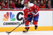 Alex Ovechkin, ailier gauche des Capitals de Washington... (AFP, Patrick Smith) - image 3.0