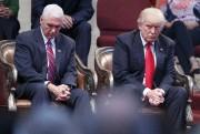 Donald Trump et Mike Pence... (Photo Evan Vucci, Archives AP) - image 3.0