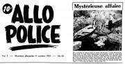 Une coupure de Allo Police, datant du 11... (Fournie par Patrica Rochette) - image 1.0