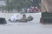 L'ouraganMatthewdéverse encore beaucoup de pluie sur son passage,... (AFP) - image 2.0