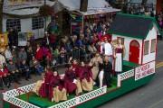 Les meunières de cette année étaient accompagnées dans... (Olivier Croteau, Le Nouvelliste) - image 1.0