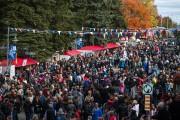 Plus de 100 000 personnes, selon les organisateurs,... (Olivier Croteau, Le Nouvelliste) - image 1.1