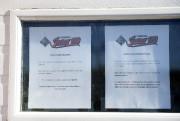 Deux notes ont été apposées, l'une pour les... (Photo Le Quotidien, Jeannot Lévesque) - image 1.0