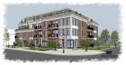 Leprojet de construction d'un immeuble à condominium au... (Photo courtoisie) - image 2.0