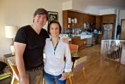 Raphaëlle Catteau et son mari Rodolphe viennent de... (Photo André Pichette, La Presse) - image 2.0
