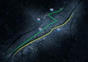En vert, de bas en haut: les rues... - image 2.0