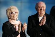 En 2009, avec son épouse, l'actrice Franca Rame,... (AP, Antonio Calanni) - image 2.0