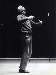 Dario Fo sur scène, en 1980... (AP, Bert Mattsson) - image 3.0