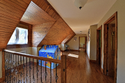 Le toit mansardé de l'étage rappelle aux D'Amico-Satriano... (Le Soleil, Patrice Laroche) - image 2.1