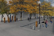 Présentation du concept de l'oeuvre d'art public Le... (Photo fournie parPhilippe Allard et Justin Duchesneau.) - image 1.0