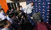 L'entraîneur-chef des Broncos de Denver, Gary Kubiak, en... (AP, David Zalubowski) - image 5.0