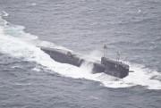 Un sous-marin russe passe au large de l'île... (AFP, Forsvaret) - image 3.0