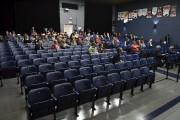 Environ 70 personnes étaient réunies à l'auditorium de... (Photo Le Quotidien, Rocket Lavoie) - image 1.0