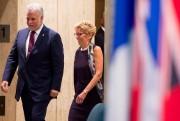 Le premier ministre Philippe Couillard et son homologue... (PHOTOJacques Boissinot, Archives La Presse canadienne) - image 1.0