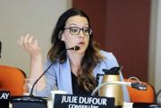 La conseillère municipale Julie Dufour.... (Archives Le Quotidien, Mariane L. St-Gelais) - image 2.0