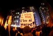 Des manifestants se sont rassemblés mercredi à Québec... (Photo Jean-Marie Villeneuve, Le Soleil) - image 1.0