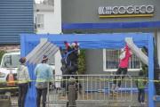 Malgré le mauvais temps, les organisateurs n'ont jamais... (Photo Le Quotidien, Gimmy Desbiens) - image 1.0