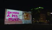 L'oeuvre vidéo Murs aveugles, d'Isabelle Hayeur.... (Photo fournie par la Biennale de Montréal) - image 1.0