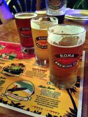 Les bières de la brasserie Kona.... (PHOTO AUDREY RUEL-MANSEAU, LA PRESSE) - image 5.0