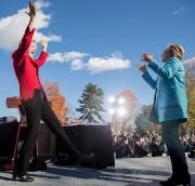 La sénatrice du Massachusetts Elizabeth Warren a fait... (Photo Andrew Harnik, AP) - image 2.0