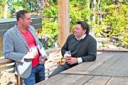 Daniel Gingras et Martin Paquette, propriétaires du Groupe... (Patrick Woodbury, LeDroit) - image 2.0