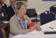 Lynn Brie, de l'APTS, a questionné le conseil... (Photo Le Quotidien, Louis Potvin) - image 1.0