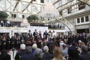Donald Trump et des membres de sa familles... (AP, Manuel Balce Ceneta) - image 3.0