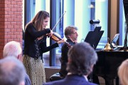 La violoniste Agnès Pyka et le pianiste Laurent... (Stéphane Lessard, Le Nouvelliste) - image 2.0