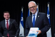 Carlos Leitao, ministre des Finances... (Photo Jacques Boissinot, La Presse) - image 1.1
