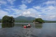 Las Isletas et le volcan Mombacho dans les... (Photo Rodolphe Lasnes, collaboration spéciale) - image 2.0