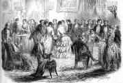 Les séances de spiritisme ont été très à... (Image libre de droits, tirée d'une édition de l'Illustration en 1853) - image 5.0