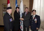 Le président d'honneur de la Légion royale canadienne... (Sylvain Mayer) - image 7.0