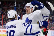 Auston Matthews et William Nylander... (PHOTO SEAN KILPATRICK, ARCHIVES PC) - image 1.0