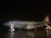 L'avion du premier ministre, après être revenu à... (Photo La Presse Canadienne) - image 1.0