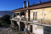 Une résidence de Norcia a été endommagée.... (Photo Vincenzo Sinapi, AP) - image 3.1