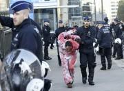 La délégation canadienne a été accueillie à Bruxelles... (AFP, John Thys) - image 2.0