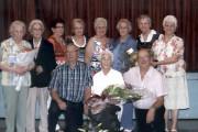 Émérance, 95 ans, est entourée de Gervaise, Béatrice,... (Courtoisie) - image 2.0