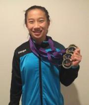 Livia Boivin (junior olympique 9, 14 ans et... (Photo courtoisie) - image 1.0