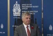 Le directeur parlementaire du budget,Jean-Denis Fréchette, a présenté... (La Presse Canadienne, Adrian Wyld) - image 2.0