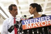 Anthony Weiner et Huma Abedin lors d'une conférence... (REUTERS) - image 2.0