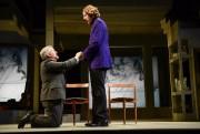 Orgon (Benoît Brière) et Tartuffe (Emmanuel Schwartz) dansTartuffede... (Photo Yves Renaud, fournie par le TNM) - image 5.0