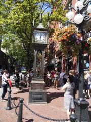 La Gaston Steam Clock, située dans le quartier... (Le Soleil, Normand Provencher) - image 5.0