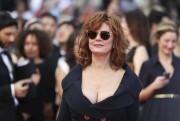 L'actrice Susan Sarandon supporte la candidate écologiste Jill... (AFP, Valery Hache) - image 5.0