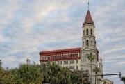 La cathédrale de St. Augustine, en Floride, construite... (Flickr/Allen Forrest) - image 4.0