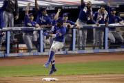 Dexter Fowler a donné les devants aux Cubs... (AP, Charlie Riedel) - image 2.0
