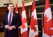 Selon le ministre des Finances Bill Morneau, trois... (Photo Justin Tang, La Presse canadienne) - image 1.1