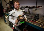 Guillaume Charland-Arcand, présidente d'ARA Robotique... (Photo André Pichette, La Presse) - image 1.0