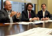 De gauche à droite, Alain Aubut, président et... (Le Soleil, Erick Labbé) - image 6.0