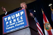 Donald Trump était de passage à Tampa, en... (Photo Evan Vucci, AP) - image 2.0
